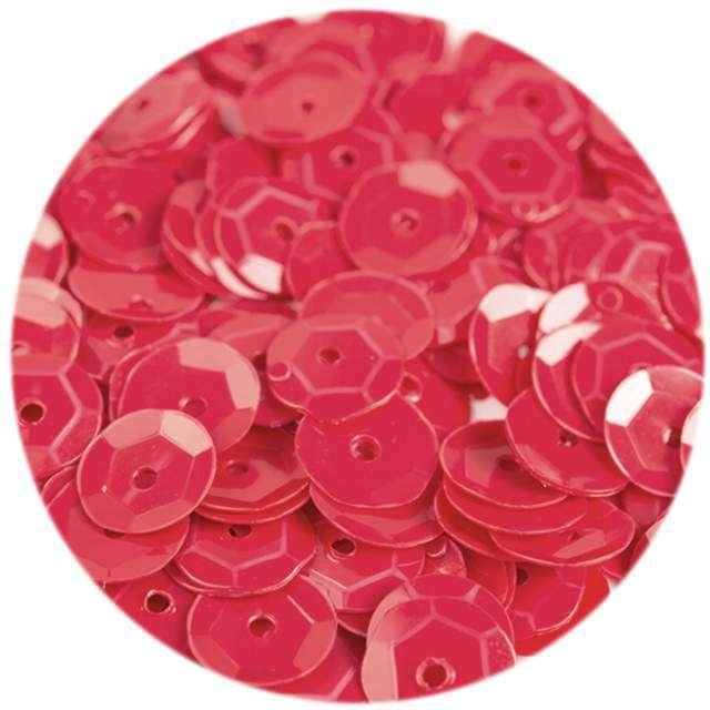 Cekiny Classic Pastel czerwone 6 mm 12 g Czakos