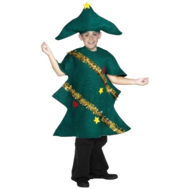 Strój dla dzieci Świąteczna Choinka Smiffys rozm. 7 - 9 lat