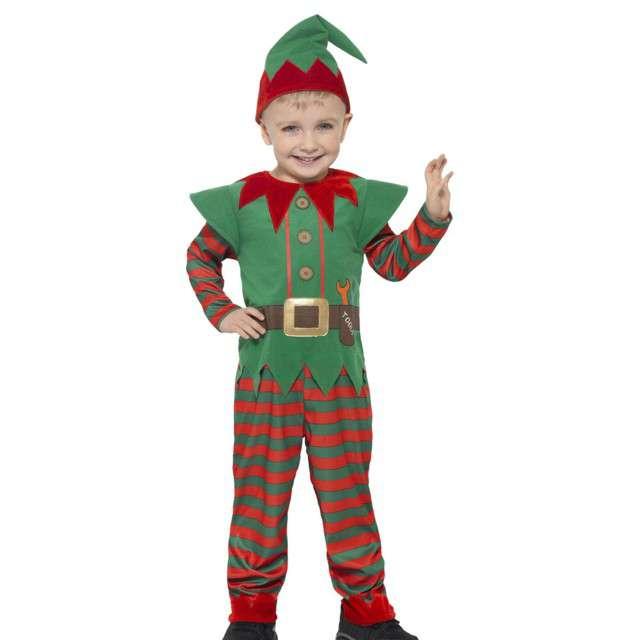 """Strój dla dzieci """"Elf"""", Smiffys, rozm. 3-4 lata"""