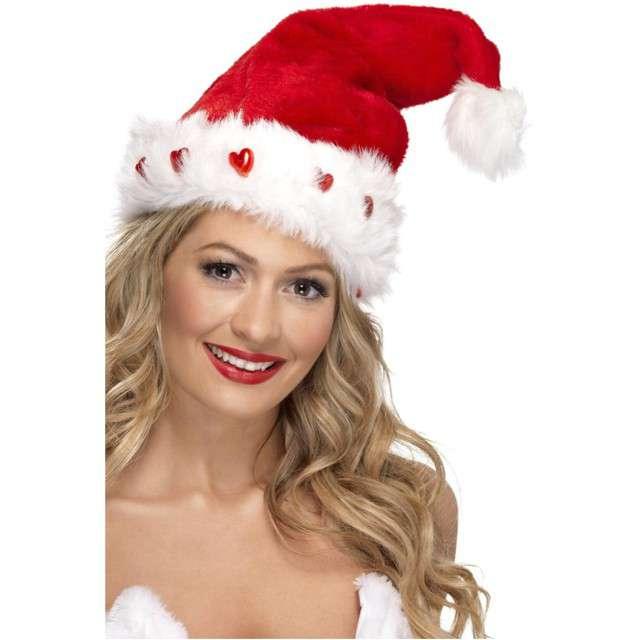 Czapka Święty Mikołaj świecący Smiffys