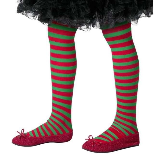 """Rajstopy dla dzieci """"Mały elf"""", Smiffys, rozm. 8-12 lat"""