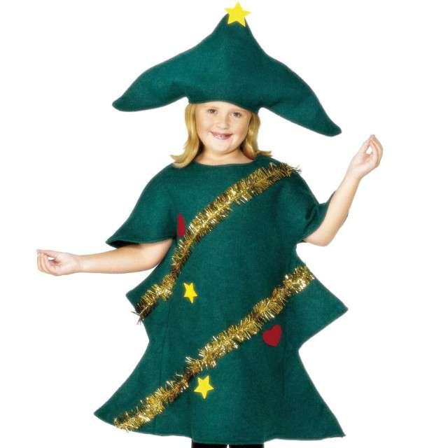"""Strój dla dzieci """"Świąteczna Choinka"""", Smiffys, rozm. 10-12 lat"""