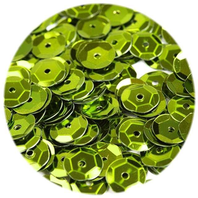 Cekiny Classic Metalic zielone jabłuszko 8 mm 12 g Czakos