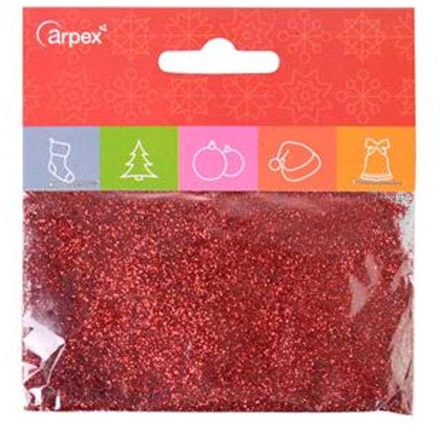 Brokat sypki Classic czerwony 15g Arpex