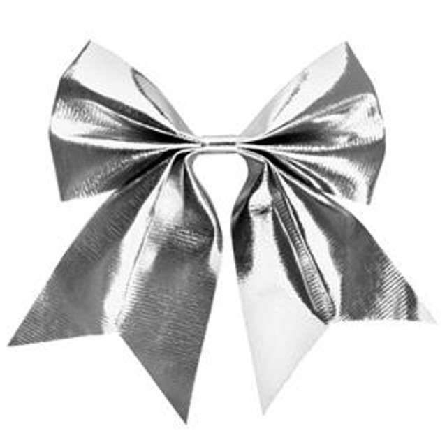 _xx_Kokarda metalizowana srebrna