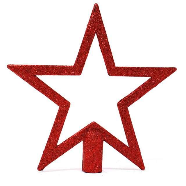 Czubek choinkowy Gwiazda czerwona Guirca