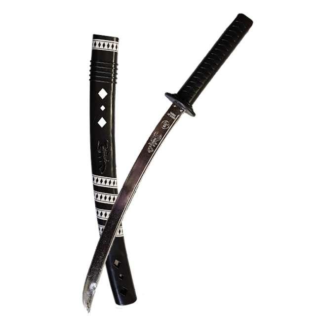 """Broń """"Miecz Ninja - Samuraja"""", PartyTino, 60 cm"""