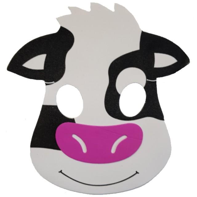 "Maska ""Krowa"", piankowa, Partytino"