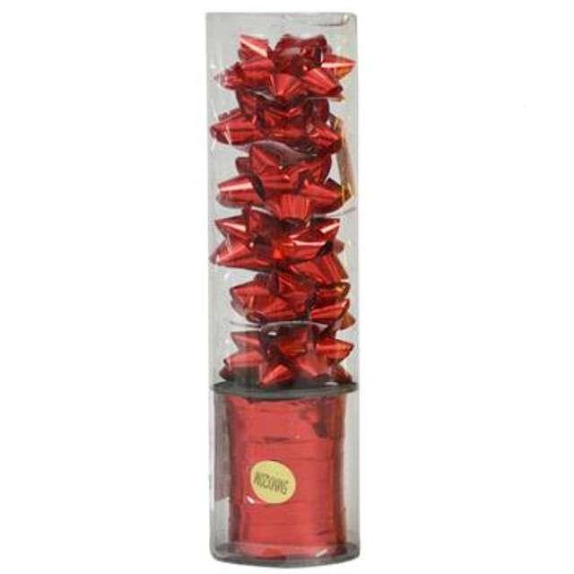 """Zestaw do pakowania prezentów """"Classic"""", czerwony, Arpex"""