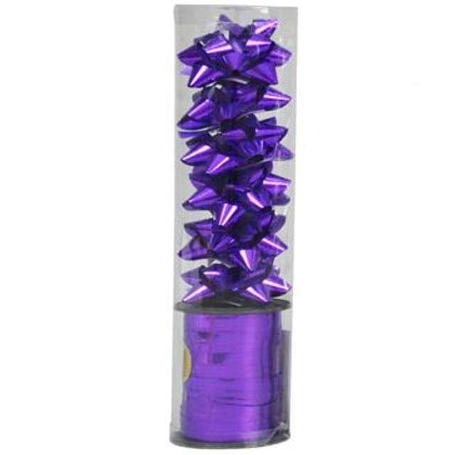 """Zestaw do pakowania prezentów """"Classic"""", fioletowy, Arpex"""