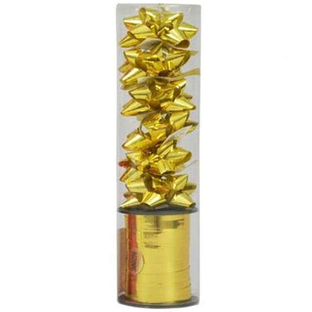 """Zestaw do pakowania prezentów """"Classic"""", złoty, Arpex"""