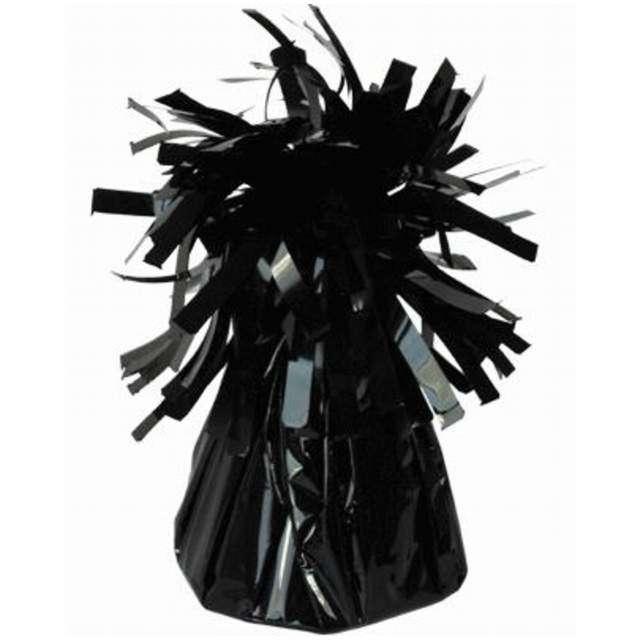 Obciążnik do balonów, foliowy, czarny, Oaktree