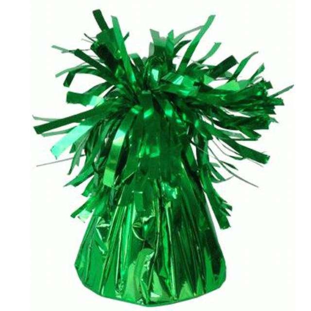 Obciążnik do balonów, foliowy, zielony, Oaktree