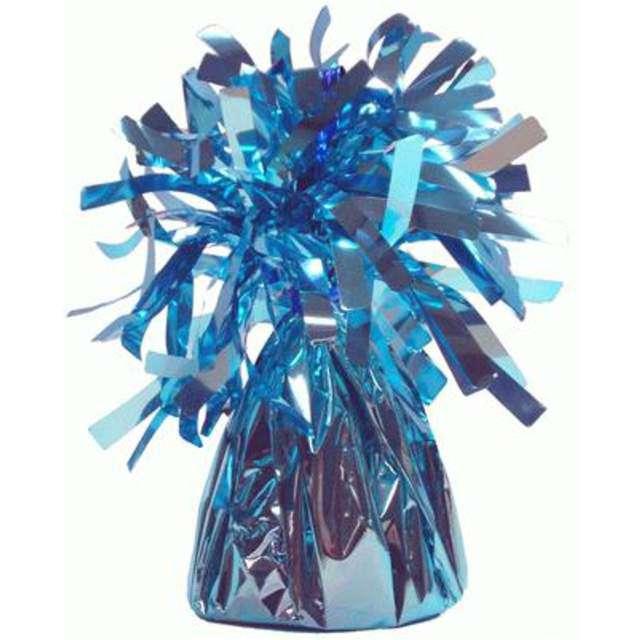 Obciążnik do balonów, foliowy, błękitny, Oaktree