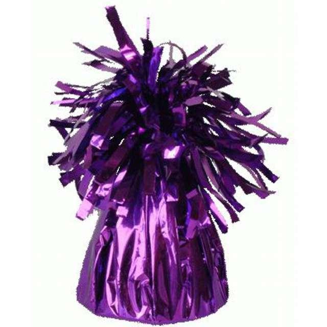 Obciążnik do balonów, foliowy, fioletowy, Oaktree