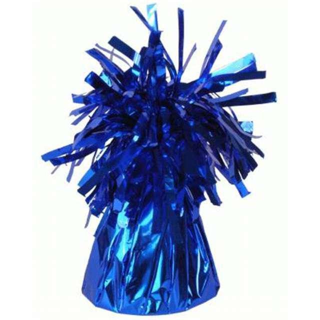 Obciążnik do balonów foliowy niebieski Oaktree