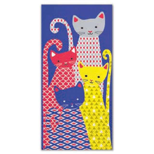 """Chusteczki """"Koty siedzące"""", PAW, 22 cm, 10 szt."""