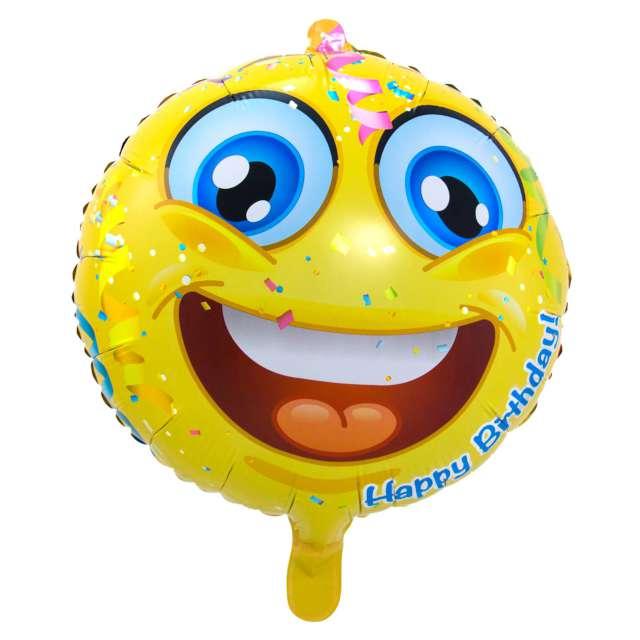 """Balon foliowy """"Emotikon - Uśmiech"""", Folat, 17"""""""