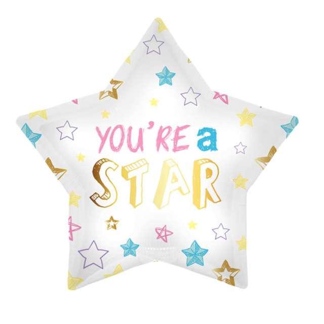 """Balon foliowy """"Youre a star"""", Folat, 18"""" STR"""