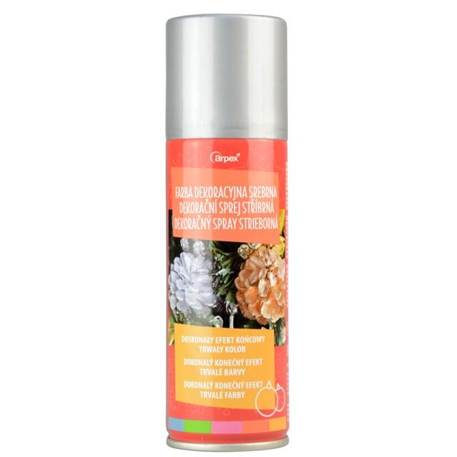 "Farba w sprayu ""Classic"", srebrna, 125 ml, Arpex"
