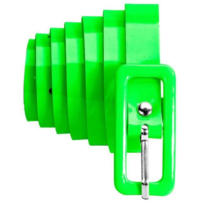 "Pasek party ""Neon"", zielony, Widmann, 2 cm"