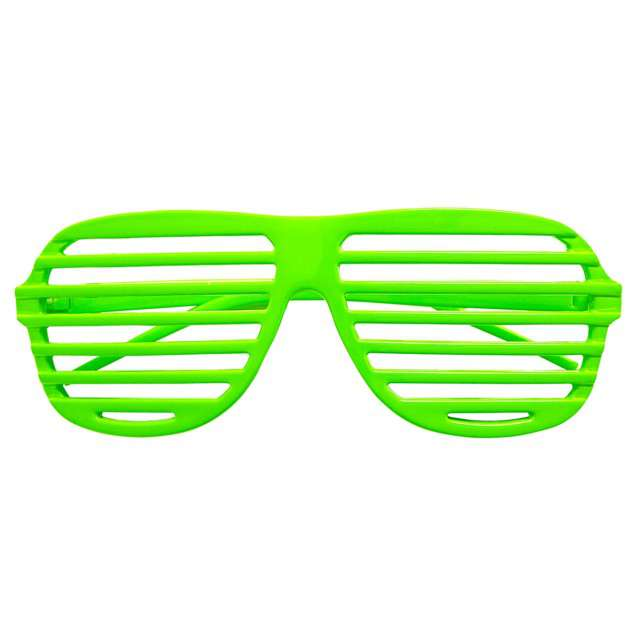 """Okulary party """"Disco"""", zielone, Widmann"""