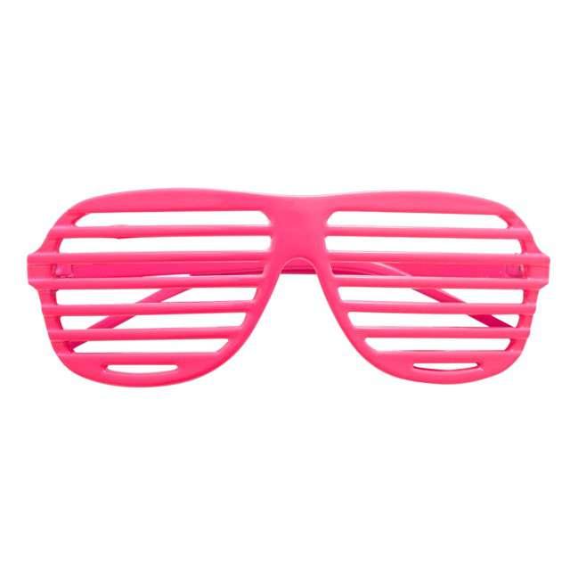 """Okulary party """"Disco"""", różowe, Widmann"""