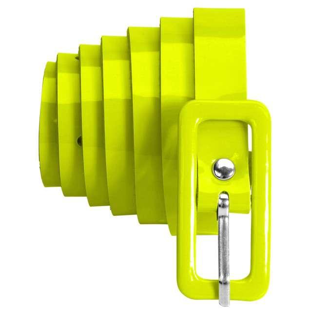 "Pasek party ""Neon"", żółty, Widmann, 2 cm"