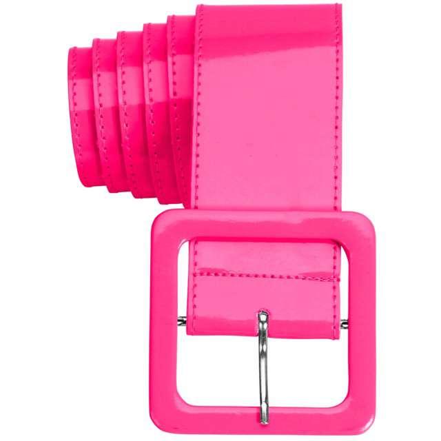 """Pasek party """"Neon"""", różowy, Widmann, 5,5 cm"""