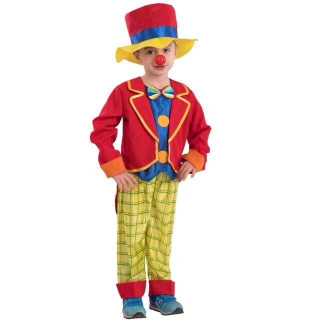 """Strój dla dzieci """"Klaun"""", Carnival Toys, rozm. 8-9 lat."""