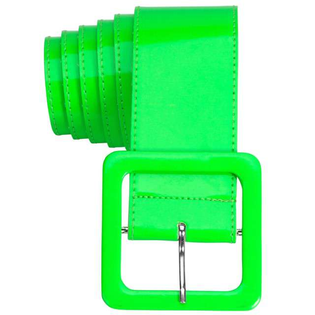 "Pasek party ""Neon"", zielony, Widmann, 5,5 cm"