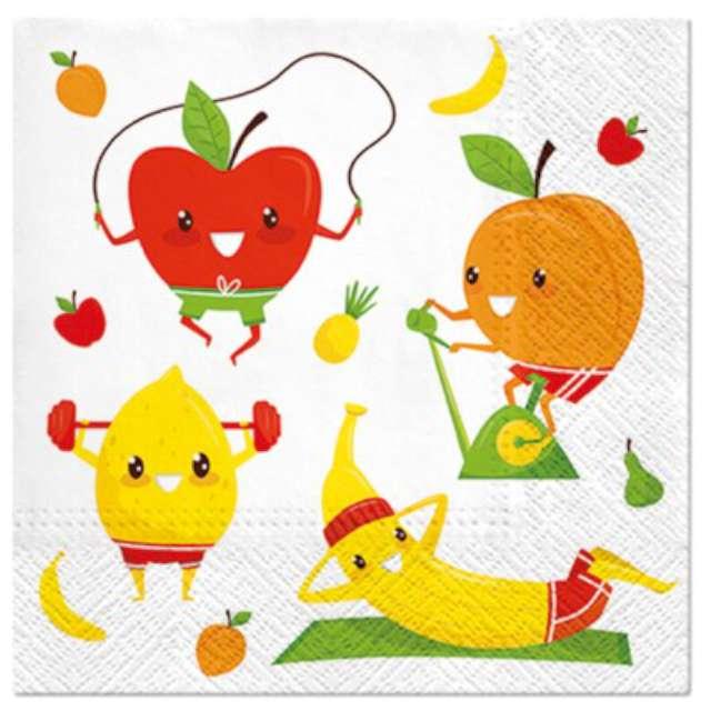 """Serwetki zapachowe """"Trenujące owoce"""", PAW, 33 cm, 20 szt."""