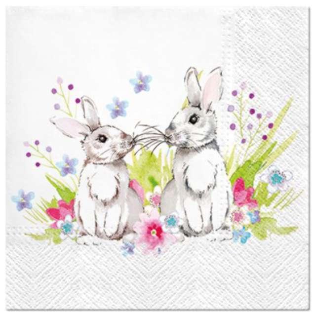 """Serwetki """"Wielkanocne Para królików"""", PAW, 33 cm, 20 szt."""