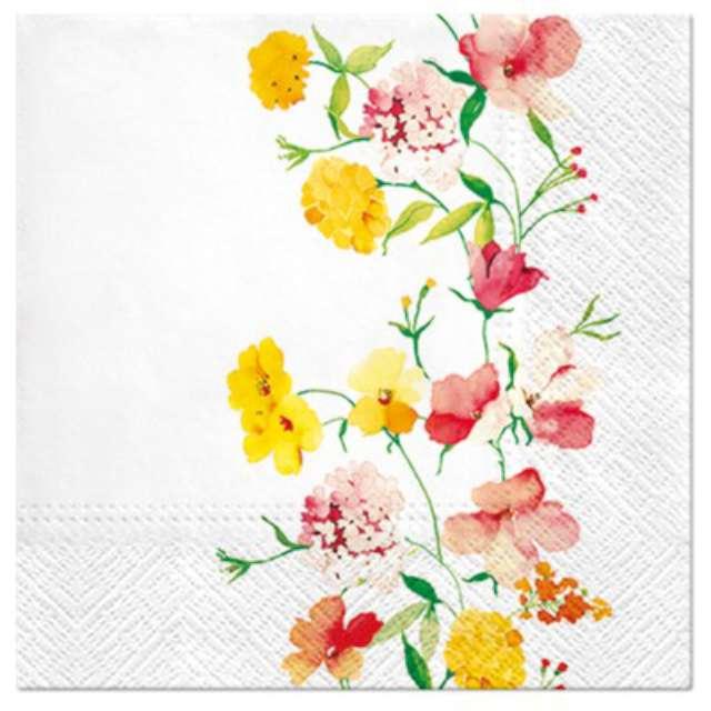 """Serwetki """"Kwiatów pas"""", PAW, 33 cm, 20 szt."""