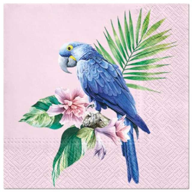 """Serwetki """"Papuga niebieska"""", PAW, 33 cm, 20 szt."""