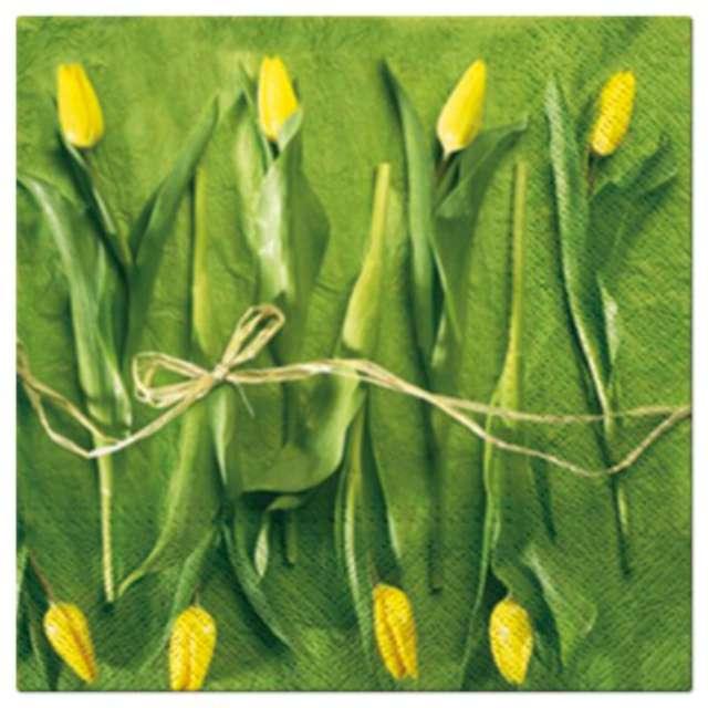"""Serwetki """"Tulipany świeże"""", PAW, 33 cm, 20 szt."""