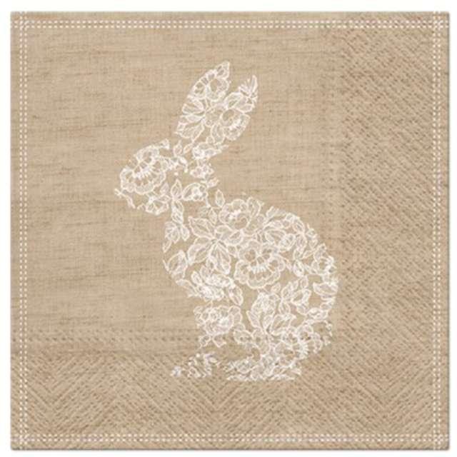 """Serwetki """"Wielkanocne Wzór królika"""", PAW, 33 cm, 20 szt."""