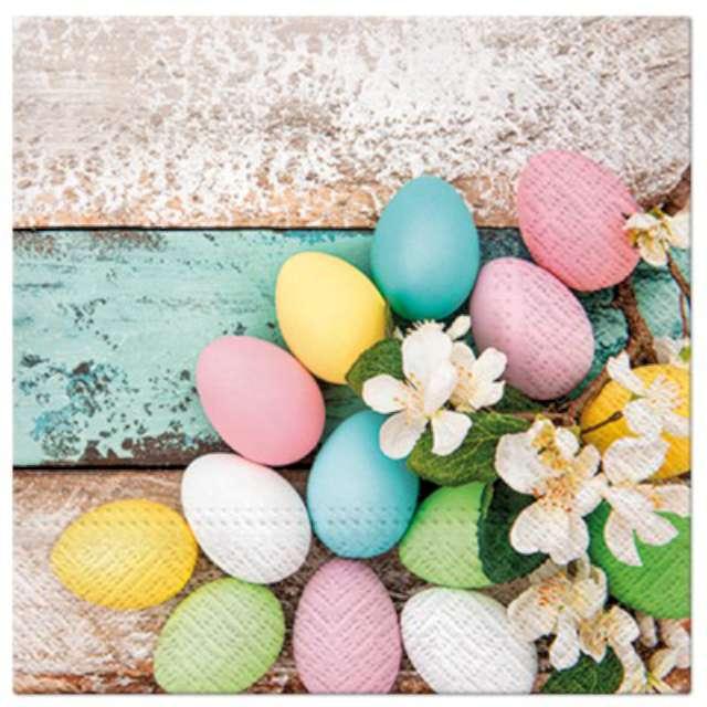 """Serwetki """"Wielkanocne kolorowe pisanki"""", PAW, 33 cm, 20 szt."""