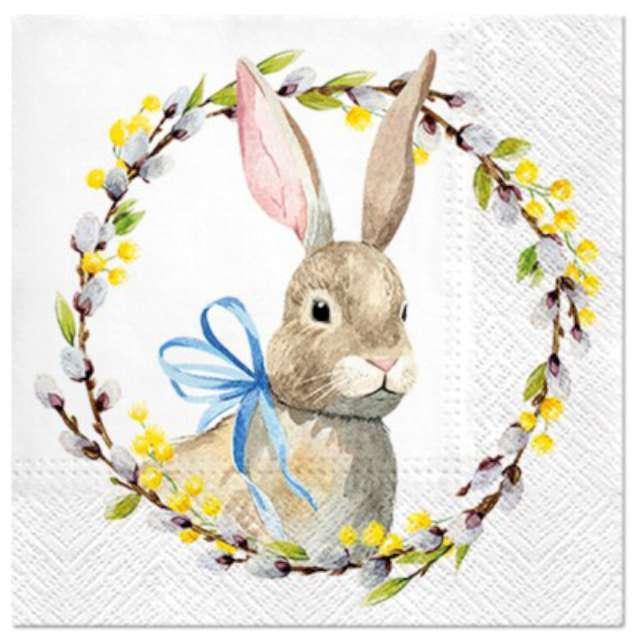 """Serwetki """"Wielkanocne królik"""", PAW, 33 cm, 20 szt."""