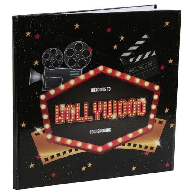 """Księga gości """"Hollywood"""", SANTEX, 24 x 24 cm"""