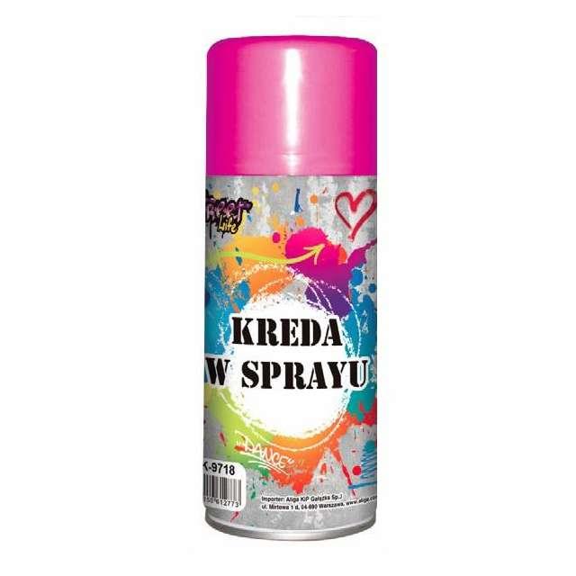 """Kreda w sprayu """"Classic"""", różowa, Aliga, 175 ml"""