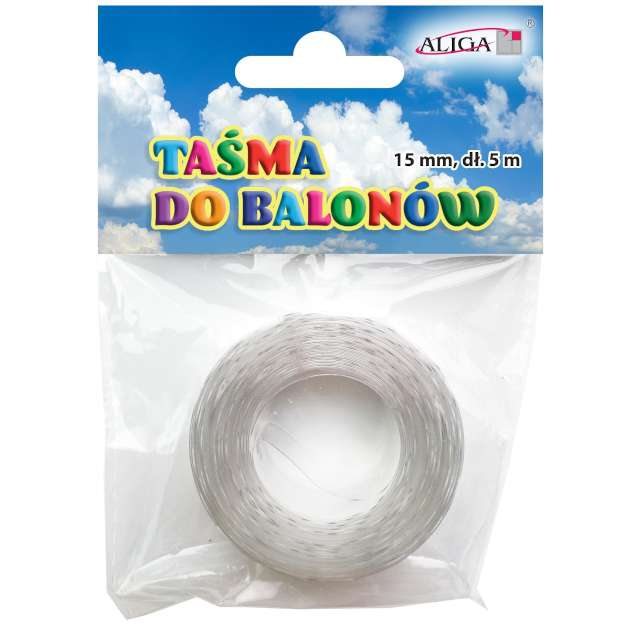 """Taśma do girland balonowych """"Classic"""", Aliga, 5 m"""