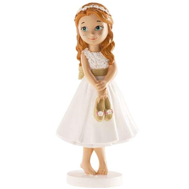 """Figurka na tort """"Komunia Dziewczynka bosa"""", Dekora, 13 cm"""