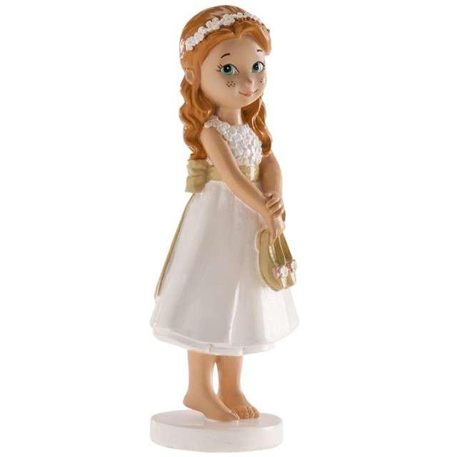 Figurka na tort Komunia Dziewczynka bosa Dekora 13 cm