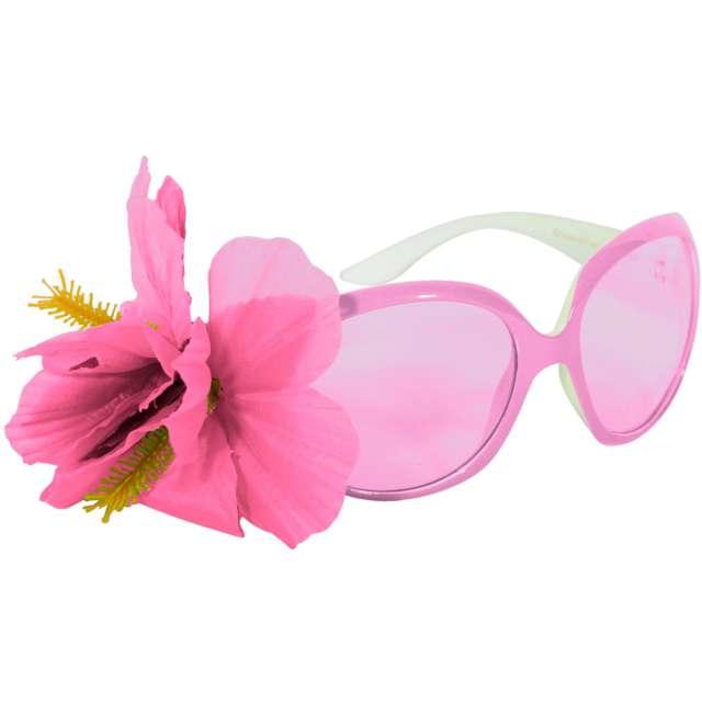 """Okulary """"Kwiatek"""", różowe, Folat"""