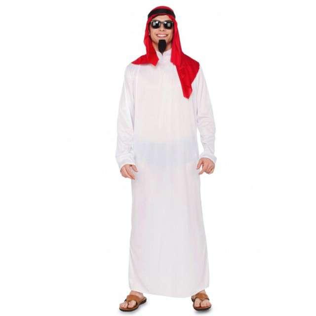 Strój dla dorosłych Arab Szejk Fyasa rozm. uniwersalny