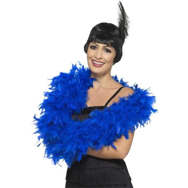"Boa ""Deluxe"", niebieski, SMIFFYS, 80g, 180 cm"