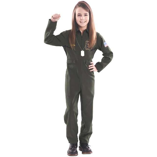 Strój dla dzieci Pilot USA Fyasa rozm. 7-9 lat