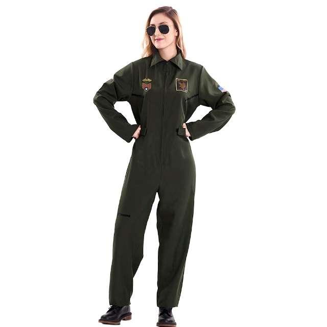 Strój dla dorosłych Pilot USA Fyasa rozm. S