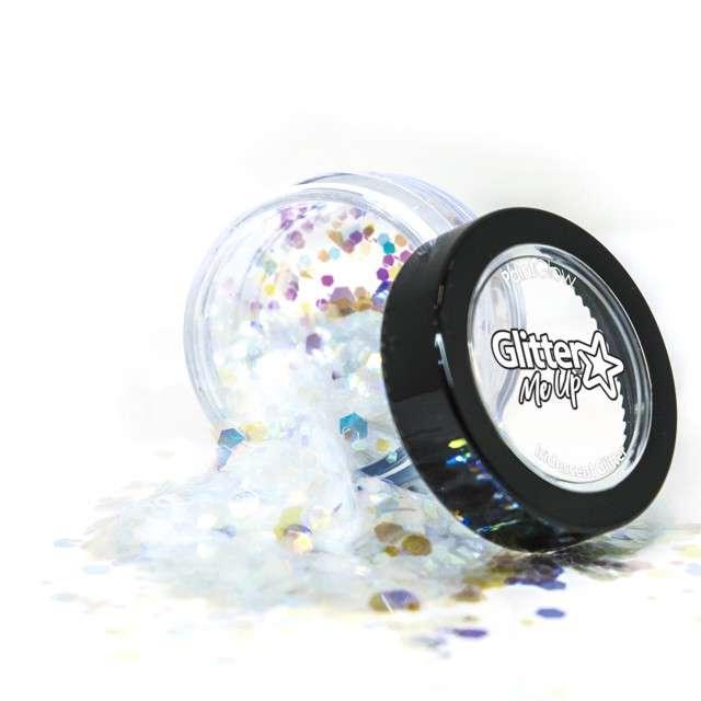 """Make-up party """"Brokat opalizujący gruby"""", perłowy, Paint Glow"""
